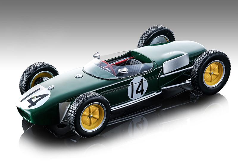 Lotus 18 #14 Jim Clark Championship Formula 1 F1 Portugal Grand Prix 1960 Mythos Series Limited Edition 120 pieces Worldwide 1/18 Model Car Tecnomodel TM18-124 E