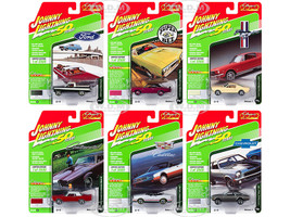 Classic Gold 2019 Release 1 Set B 6 Cars 1/64 Diecast Models Johnny Lightning JLCG019 B