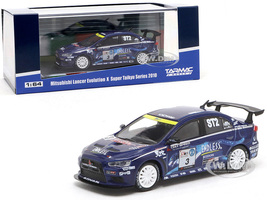 Mitsubishi Lancer Evolution X #3 Mineo Murata Yamauchi Super Taikyu Series 2010 1/64 Diecast Model Car Tarmac Works T64-004-ENL