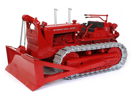 International Harvester TD-24 Crawler Diesel Tractor Cable Blade Classic Series 1/25 Diecast Model SpecCast ZJD1844