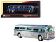 1959 GM PD4104 Motorcoach #22 Turismo Santa Rita Sao Paulo Chrome Vintage Bus Motorcoach Collection 1/87 Diecast Model Iconic Replicas 87-0144