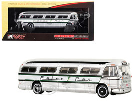 1959 GM PD4104 Motorcoach Peter Pan Boston Massachusetts Vintage Bus Motorcoach Collection 1/87 Diecast Model Iconic Replicas 87-0146