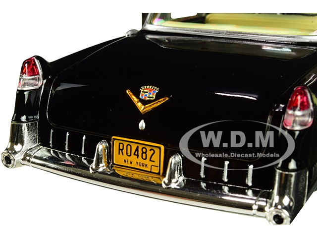 GODFATHER 1955 Cadillac Fleetwood Series 60 Diecast 1:24 Greenlight 8 inch Black