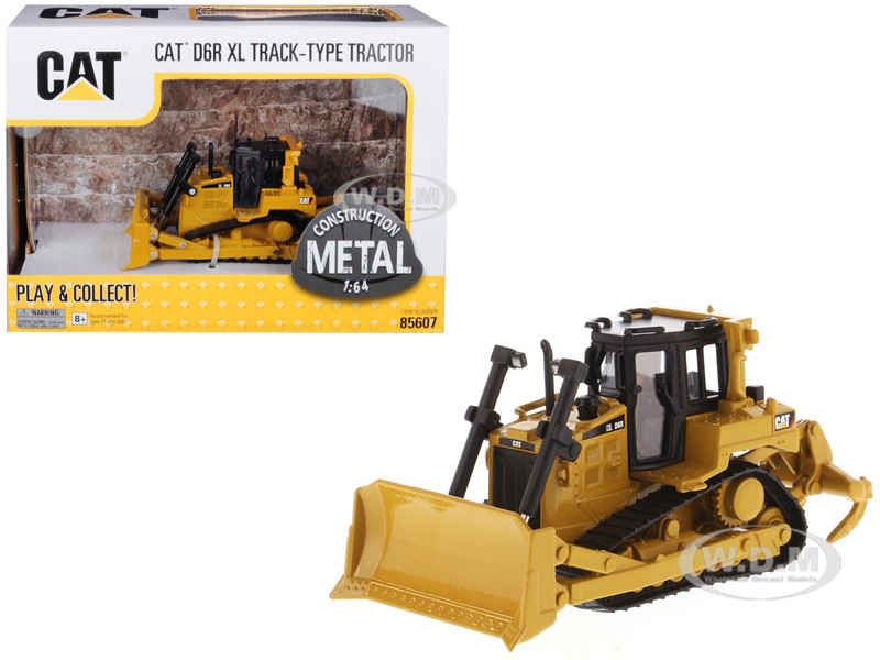 CAT Caterpillar D6R XL Track-Type Tractor Dozer 1/64 Diecast Model by  Diecast Masters