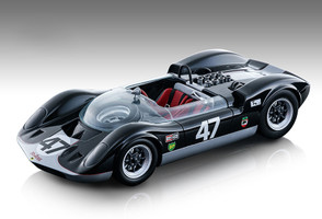 McLaren Elva Mark 1 #47 Bruce McLaren 3rd Place Canada Mosport Grand Prix 1964 Bruce McLaren Motor Racing Mythos Series Limited Edition 180 pieces Worldwide 1/18 Model Car Tecnomodel TM18-86 A
