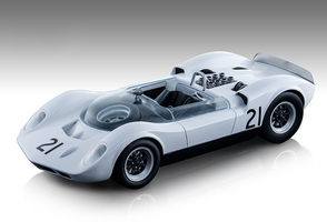 McLaren Elva Mark 1 #21 Graham Hill DNF Did Not Finish Guards Trophy Brand Hatch 1965 Mythos Series Limited Edition 90 pieces Worldwide 1/18 Model Car Tecnomodel TM18-86 C