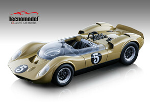 McLaren Elva Mark 1 #5 Gold Spinout 1966 Movie Limited Edition 1/18 Model Car Tecnomodel TM18-86 D