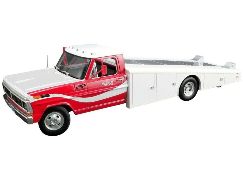 1970 Ford F-350 Ramp Truck Coca Cola Allan Moffat Motor Racing Red White DDA Collectibles Series 1/18 Diecast Model Car ACME A1801401