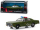 1977 Plymouth Fury US Army Police The A-Team 1983 1987 TV Series 1/43 Diecast Model Car Greenlight 86556