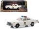 1977 Plymouth Fury Cream Hazzard County Sheriff 1/43 Diecast Model Car Greenlight 86558