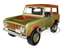 1970 Ford Bronco Tan Brown Lost 2004 2010 TV Series 1/18 Diecast Model Car Greenlight 19057