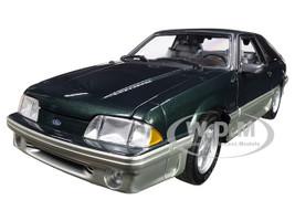 1991 Ford Mustang GT 5.0 Deep Emerald Green Metallic Home Improvement 1991 1999 TV Series Limited Edition 600 pieces Worldwide 1/18 Diecast Model Car GMP 18920