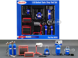Binford Tools Garage Shop Tool Set of 7 pieces Home Improvement 1991 1999 TV Series 1/18 Diecast Replica GMP 18938