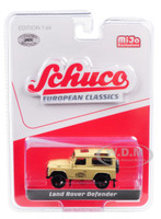 Land Rover Defender Camel Brown European Classics Series Limited Edition 2400 pieces Worldwide 1/64 Diecast Model Car Schuco 8500