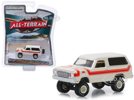 1978 Dodge Ramcharger Top Hand Cream Stripes All Terrain Series 8 1/64 Diecast Model Car Greenlight 35130 C