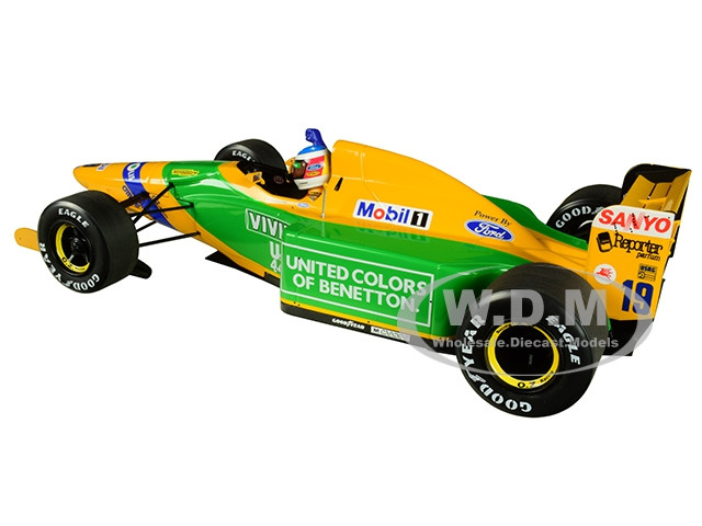 1:18 Minichamps benetton ford b192 1st gp victory Spa schumacher 1992