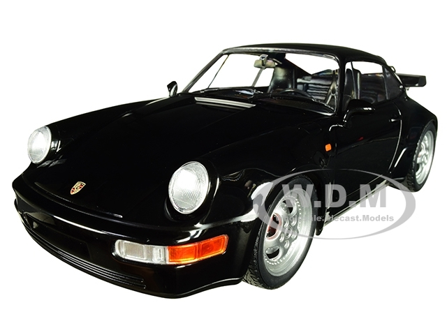 1990 Porsche 911 Turbo Black Limited Edition 504 pieces Worldwide 1/18 Diecast Model Car Minichamps 155069104