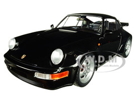 1990 Porsche 911 Turbo Black Limited Edition 504 pieces Worldwide 1/18 Diecast Model Car Minichamps 155069104