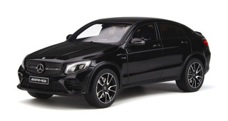 Mercedes AMG GLC 43 Obsidian Black Limited Edition 500 pieces Worldwide 1/18 Model Car GT Spirit GT229