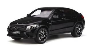 Mercedes AMG GLC 43 Obsidian Black Limited Edition 500 pieces Worldwide 1/18 Model Car GT Spirit GT229