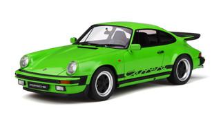 Porsche 911 3.2 Carrera Lime Green Limited Edition 500 pieces Worldwide 1/18 Model Car GT Spirit GT740