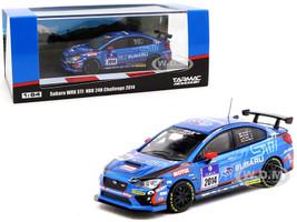 Subaru WRX STI #2014 NBR 24H Challenge 2014 1/64 Diecast Model Car Tarmac Works T64-016-14N24