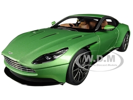 Aston Martin DB11 RHD Right Hand Drive Apple Tree Green Metallic 1/18 Model Car Autoart 70269