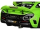 McLaren 675LT Napier Green Black Wheels 1/18 Model Car Autoart 76049