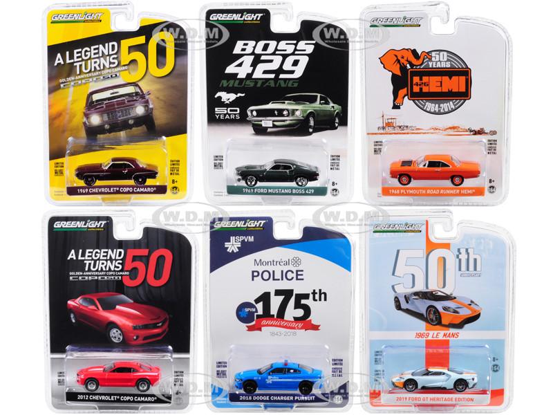 GreenLight 27980-c Plymouth Road Runner hemi-anniversary collection 1:64 nuevo °