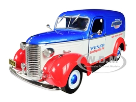 1939 Chevrolet Panel Truck Yenko Sales and Service Running on Empty Series 3 1/24 Diecast Model Car Greenlight 85041