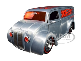 Div Cruizer Van Metal Raw D-Rods Jada 20th Anniversary 1/24 Diecast Model Car Jada 31078