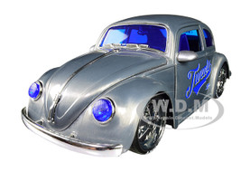 1959 Volkswagen Beetle Twenty Metal Raw VDubs Jada 20th Anniversary 1/24 Diecast Model Car Jada 31083