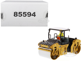 CAT Caterpillar CB-13 Tandem Vibratory Roller ROPS Roll Over Protective Structure and Operator High Line Series 1/50 Diecast Model Diecast Masters 85594