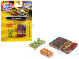 Produce Loads 3 piece Accessory Set 1/87 HO Scale Models Classic Metal Works 20232