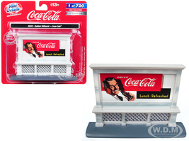 Outdoor Billboard Coca Cola for 1/87 HO Scale Models Classic Metal Works 20233