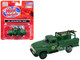 1954 Ford Hi-Rail Truck Southern Green Accessories 1/87 HO Scale Model Classic Metal Works 30541