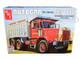 Skill 3 Model Kit Autocar DC-9964B Dump Truck 1/25 Scale Model AMT AMT1150