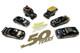 6 piece Set Johnny Lightning 50th Anniversary Limited Edition 2400 pieces Worldwide 1/64 Diecast Models Johnny Lightning JLCP7197