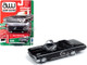 1962 Chevrolet Impala SS Convertible Tuxedo Black Vintage Muscle Limited Edition 5480 pieces Worldwide 1/64 Diecast Model Car Autoworld 64222 CP7600