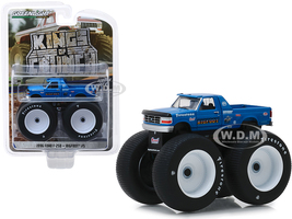 1996 Ford F-250 Monster Truck Bigfoot #5 Blue Kings of Crunch Series 4 1/64 Diecast Model Car Greenlight 49040 E