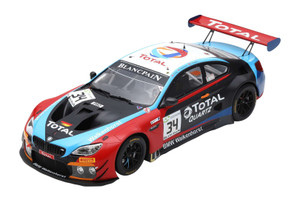 BMW M6 GT3 #34 T Blomqvist C Krognes P Eng Winners 24H SPA 2018 Walkenhorst Motorsport 1/18 Model Car Spark 18SB010