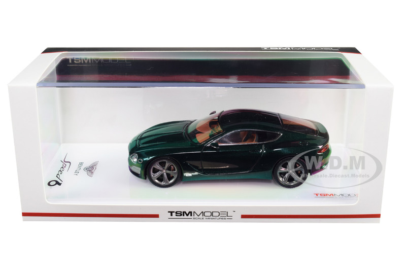 Bentley EXP 10 Speed 6 Metallic Dark Green 1/43 Model Car True Scale Miniatures 430282