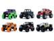 Just Trucks Set of 6 Trucks Series 24 1/64 Diecast Model Cars Jada 14020-W24