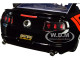 2010 Ford Mustang GT Borla Exhaust Black Red Stripes Bigtime Muscle 1/24 Diecast Model Car Jada 31322