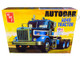 Skill 3 Model Kit Autocar A64B Tractor 1/25 Scale Model AMT AMT1099