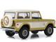 1976 Ford Bronco Gold Metallic Cream Colorado Gold Rush Bicentennial Special Edition 1/18 Diecast Model Car Greenlight 19071