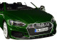 Audi RS 5 Coupe Metallic Green Black Top 1/24 Diecast Model Car Bburago 21090