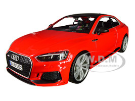 Audi RS 5 Coupe Red Black Top 1/24 Diecast Model Car Bburago 21090