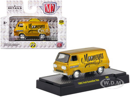 1965 Ford Econoline Van Mooneyes Liquid Gold Limited Edition 3680 pieces Worldwide 1/64 Diecast Model Car M2 Machines 32500-S69-S2F