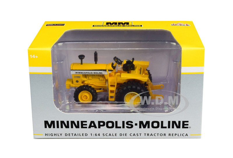 Minneapolis Moline G1000 Vista Tractor Power Assist Yellow 1/64 Diecast Model SpecCast SCT711